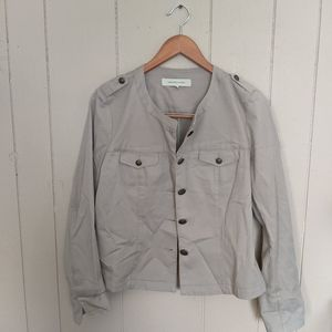 Gerard Darel tan military jacket size 40